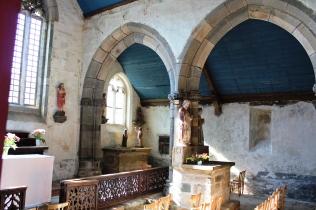 Chapelle Saint-Jean-Balanant, Plouvien (29), intérieur