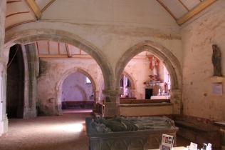 Chapelle Saint-Jaoua, Plouvien (29), intérieur du choeur